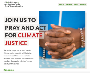 Global Prayer and Action Chain for climate justice